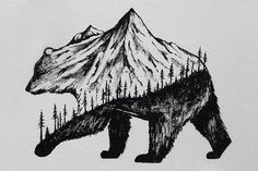 Miniature Hybrid Illustrations Of Wild Animals Combined With ...