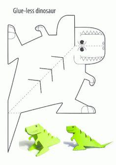 Dinazor Kalıbı. Dinosaur printables. Molde del dinosaurio.динозавр.