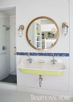 nautical bathroom |