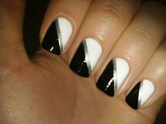 Black, Silver & White
