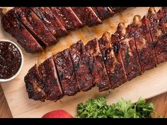 Apple Butter BBQ Ribs