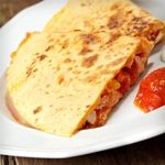 Atkins Chicken and Cheese Quesadillas. Only 8.7g Net Carbs