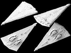 (Armada) First Order Dreadnought 3d printed