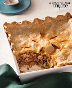 Put together a tasty pot pie in a snap with our Italian Beef Pot Pie recipe and ready-to-use pie crust! Serve our beef pot pie recipe in 40 minutes flat. Kraft Recipes, Entree Recipes, Pie Recipes, Cooking Recipes, What's Cooking, Easy Recipes, Casserole Recipes, Dinner Recipes, Italian Meats
