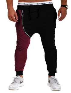 Split Hip Hop Harem SweatPants