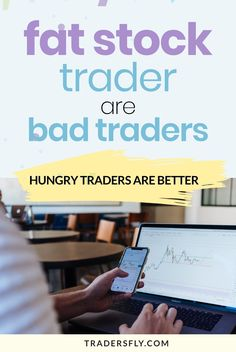 Trading Tips - What are fat stock traders and why are they bad traders? Check this out! Feeling Sick, How Are You Feeling, Stock Market Basics, Stock Trader, Stock Charts, Investing In Stocks, Bad Relationship, Do It Anyway, Ex Wives