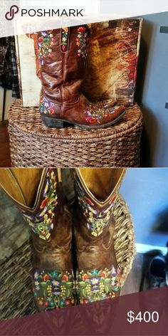 "Old Gringo Brass Sora 13"" boots sz 10 Lnib women's Old Gringo Brass Sora Boots sz 10, these boots were worn only a handful of times and are in near new condition. They will come in original box. Old Gringo Shoes Heeled Boots"