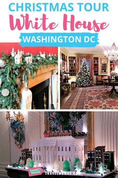 Did you know the only time of year cameras are allowed in the White House is during the holidays? Touring the White House in Washington DC when each room is fully decorated for Christmas was a stunning experience.  Check out the photography and peek into each room including the Red Room, China Room, State Dining Room, the official White House Christmas Tree in the Blue Room, and more! If you're on vacation near DC during the holiday season, you'll want these tips on visiting.  #WhiteHouse #DC