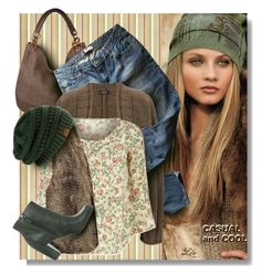 """Casual and cool"" by fashion-architect-style ❤ liked on Polyvore featuring moda, Ralph Lauren, Handbag Republic, Levi's, Joseph, Denim & Supply by Ralph Lauren, H&M e ECCO"