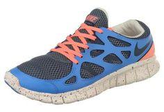 #NIKE »Free Run + 2«. Laufschuh. Atmungsaktiv durch Meshmaterial. Sohle mit Flex-Kerben für einen natürlichen Bewegungsablauf. Super leichter Schuh. #justdoit
