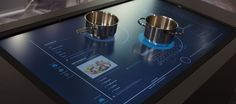 We get hands-on time with Whirlpool's new touchscreen cooktop concept.