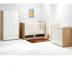 Cosatto Arlo Nursery Furniture Roomset Honey Pine Nursery