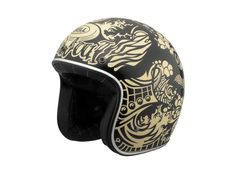 Bell helmet.