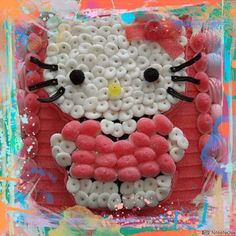 tarta chuches hello kitty