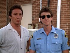 "Alan Autry as Bubba Skinner - Hugh O'Connor as Lonnie Jamison - ""In the heat of the night."""
