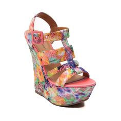 b34495cb1b2d Shop for Womens Dollhouse Electric Wedge in Coral at Shi by Journeys. Shop  today for