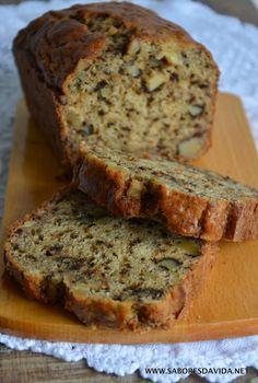 Pão de Banana com Nozes - Banana Bread