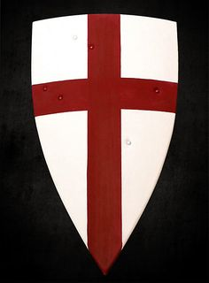 The shield of Sir Galahad, Knight of the Round Table.