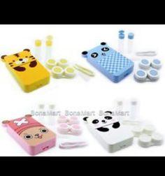 Panda contacts case. Do you love it?