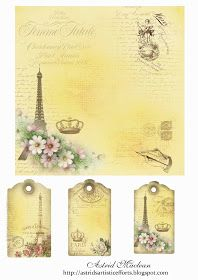 postal etiqueta paris astrid Astrid's Artistic Efforts: Finally a Freebie Vintage Tags, Vintage Labels, Vintage Paper, Vintage Postcards, Vintage Ephemera, Printable Labels, Printable Paper, Freebies Printable, Free Printables