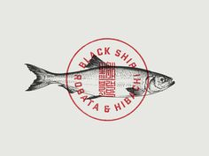 "Branding to the fine-dining Japanese and Korean restaurant named Black ship. As it's designer says "" Japanese Kanji, Korean Hanja and American typography are blended in the Black Ship branding, representing the three clashing cultures that influence the cuisine."" By Daniel Führer Desing http://danielfuhrerdesign.com/"