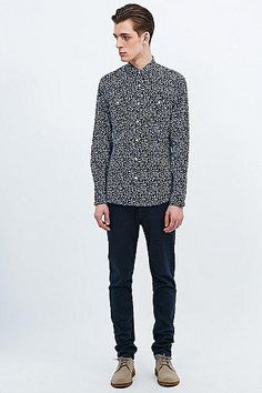 Selected Homme One Picos Shirt in Navy #shirt #selectedhomme #men #covetme