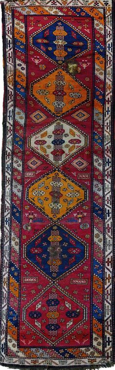 Rug  - Armenian Carpets Size 306x105 Origin: Meghri