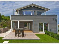 Designhaus alpenchic modernes stadthaus von baufritz for Stadtvilla modern einrichten