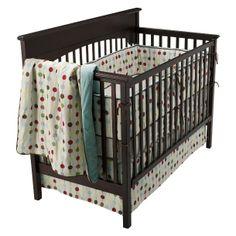 Skip Hop Classic Crib Bedding 4 pc Set with Bumper -  Mod Dot