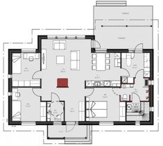 Sweet Home, Floor Plans, Exterior, Flooring, How To Plan, Architecture, Building, Arquitetura, House Beautiful