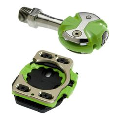 Speedplay Zero lime green road pedal