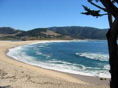 Carmel, California San Simeon, Carmel California, Carmel By The Sea, Beach Walk, Big Sur, Beach Cottages, Santa Monica, Places To See, Seaside
