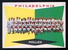 Old Vintage Baseball Cards 1960 Topps Philadelphia Team #302 EXMT-NRMT