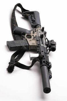 Airsoft Guns, Weapons Guns, Guns And Ammo, Ar Pistol, Submachine Gun, Custom Guns, Cool Guns, Assault Rifle, Military Weapons