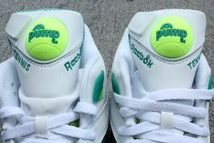 Reebok reach back into the vault to pull out Michael Chang's classic Court Victory Pump! Click for more.