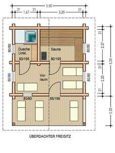 Outdoor sauna im garten tipps rund ums saunahaus for Sauna house plans