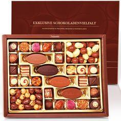 Exklusive Schokoladenvielfalt 'Klassiker' für ganz süße