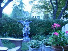 The back garden, Three Tree Inn, Geneva, NY
