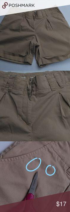 15dc83d6c0313 J Jill Genuine Fit Khaki Stretch Cuffed Shorts 10P