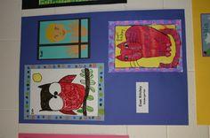 Kindergarten art show