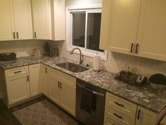 Pro #2070911 | West Michigan Granite, Inc. | Grandville, MI 49418 Grandville Mi, Backsplash, Granite, Countertops, Tile Floor, Michigan, Kitchen Cabinets, Flooring, Home Decor