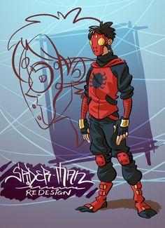 Spider-Man costume redesign By Splendidriver