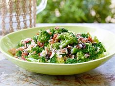 Broccoli Salad recipe from Trisha Yearwood.