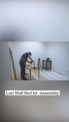 Best Murphy Bed, Murphy Bed Ikea, Lori Walls, Diy Bed Frame, Bed Wall, Platform Bed, Shelves, Bedroom, Home Decor