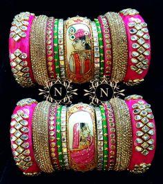 Handmade Gold & Silver Bracelets For Women Silk Thread Bangles, Thread Jewellery, Diy Jewellery, Bridal Bangles, Bridal Jewelry, Gold Jewelry, Jewlery, Silk Thread Necklace, Thread Bangles Design