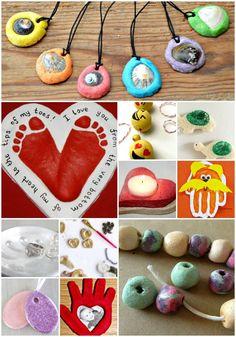 Salt Dough Crafts: P