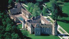 Chateau de Bazoches, France #yonne #medieval