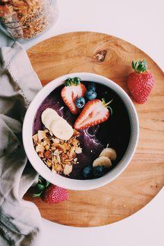 Acai Bowl, Workout, Breakfast, Health, Instagram, Food, Acai Berry Bowl, Morning Coffee, Health Care