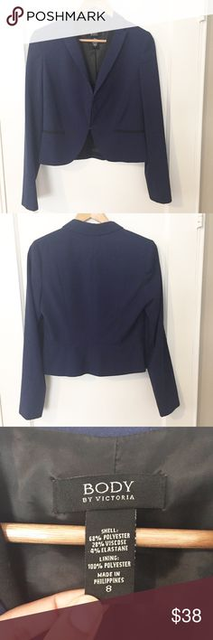 Navy Victoria's Secret Blazer Preloved, but in Great Condition Victoria's Secret Jackets & Coats Blazers