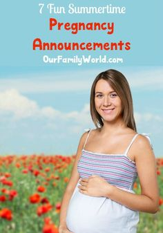 While you may have plans to soak up the summer sunshine, if you have a baby on the way you may want to check out these summertime pregnancy announcements. You may not be able to contain your excitement for long. In fact, I'm excited for you myself! Give your family and friends (and yourself too!) a beautiful memory with these ideas and take advantage of the summer sunshine! Check out my very favorite summertime pregnancy announcements below!